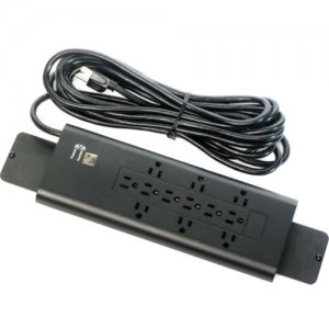 12-Outlet Power Strip with Surge and Overload Protection