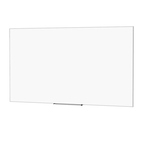 Da-Lite 25939 50x80in. IDEA Magnetic Whiteboard Screen, 24in. Tray