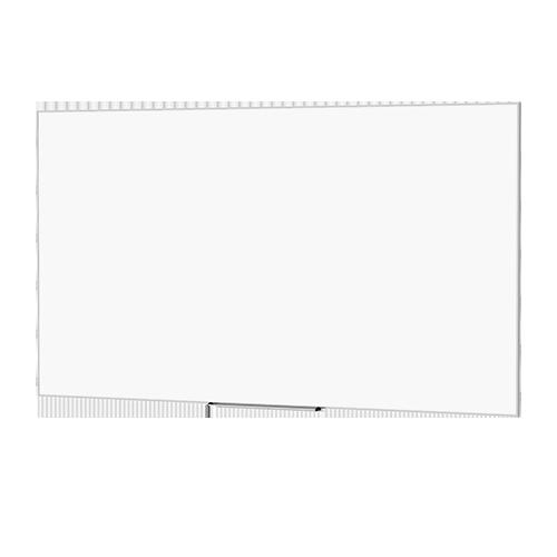Da-Lite 25939T 50inx80in IDEA Magnetic Whiteboard Screen, Full-Length Tray