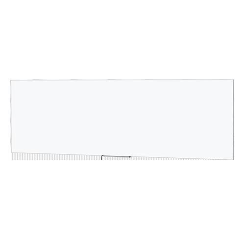 Da-Lite 27962 46inx168in IDEA Magnetic Whiteboard Screen, 24in Tray