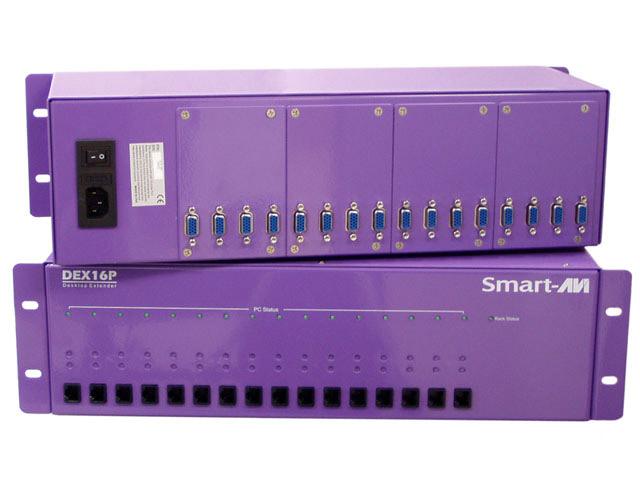 SmartAVI DXP16P-TXS 3U Chassis - Supports 16 Trans & redundant PS Transmitter