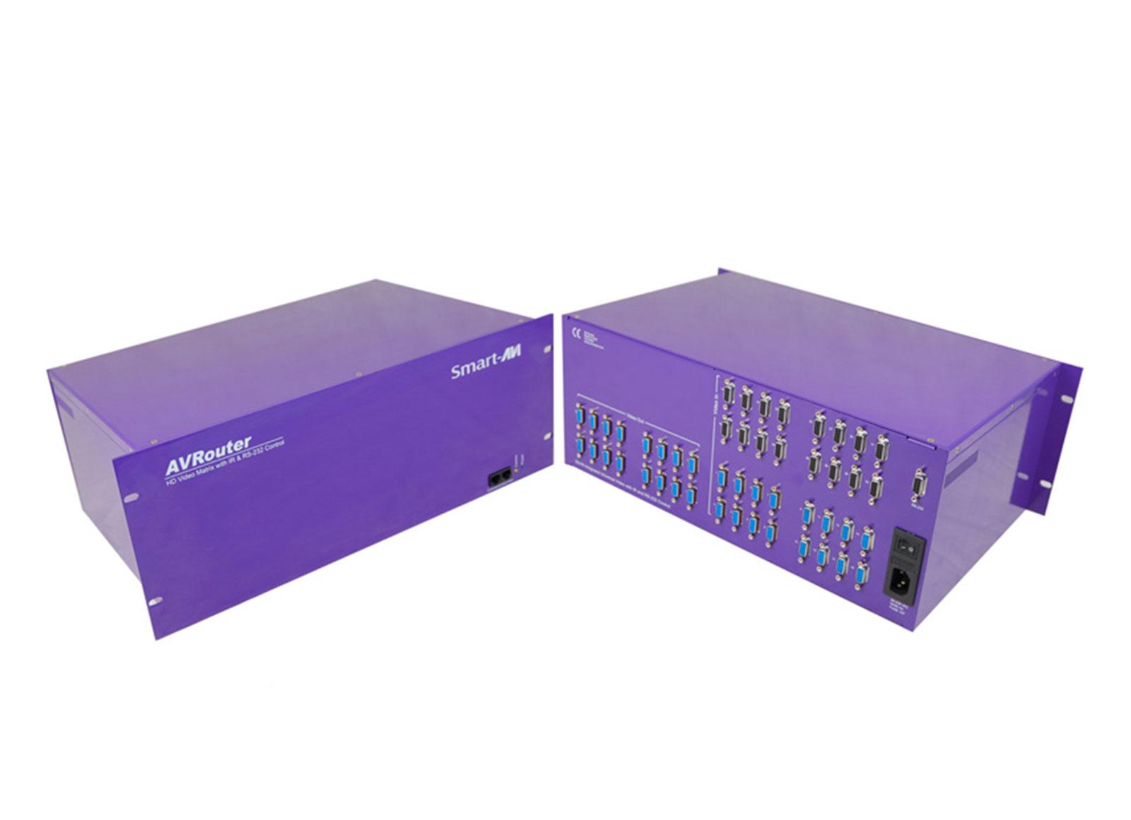 SmartAVI AV64X16S AVROUTER: 64 UXGA/Component to 16 Monitors