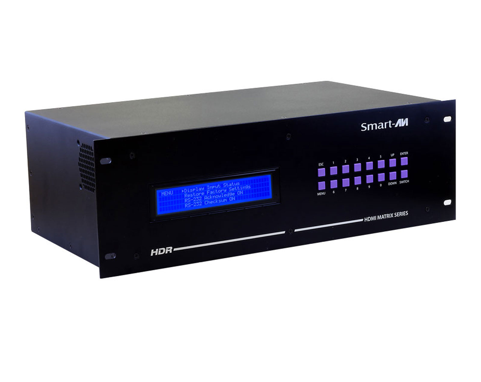 SmartAVI HDR8X8S 8x8 HDMI, RS-232, IR, TCP/IP Router Up to 40ft