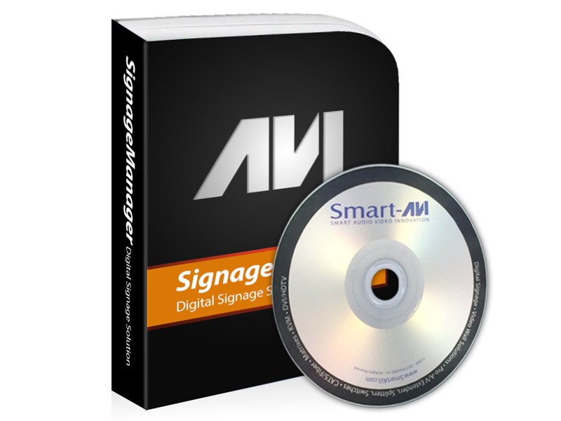 SmartAVI AP-PRWL-WS PresenterWall Manager Software