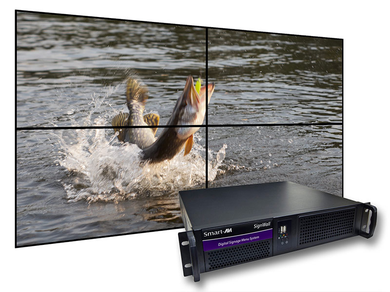 SmartAVI AP-SVW-120G5S SignWall Digital Signage Menu Player