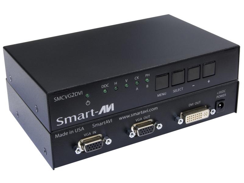 SmartAVI SMCVG2DVIS VGA to DVI Active Converter