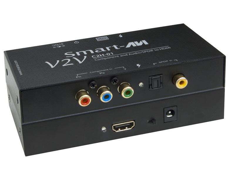 SmartAVI V2V-C2H-01S Component Video & SPDIF Audio to HDMI Converter