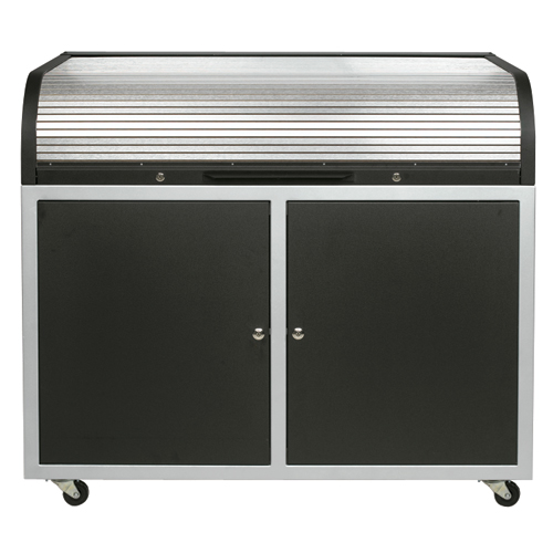 Chief ERT ST Elite Roll Top Desk (Steel)