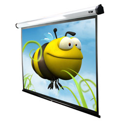 Elite Home120IWV2 Home2 120in. Motorized Front Projector Screen 72x96in.