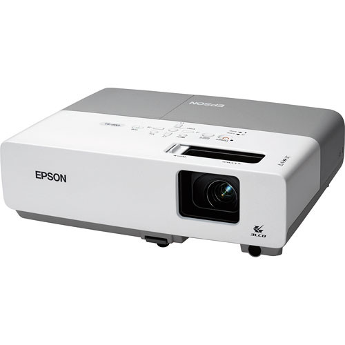 Epson PowerLite 83+ Used Multimedia Projector, Over 50% Lamp Life Remaining