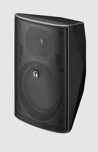 TOA F-1300BTWP Black 5-in Cone Woofer Outdoor Box Speaker