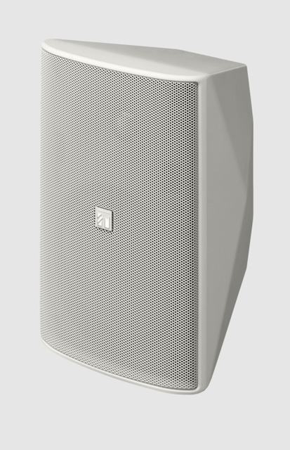 TOA F-1300WTWP White 5-in Cone Woofer Outdoor Box Speaker