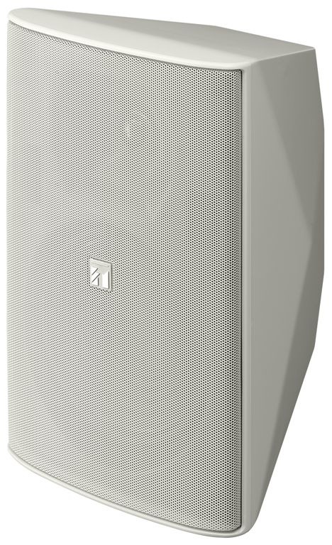 TOA F-2000WT White 8-in Cone Woofer Indoor Box Speaker