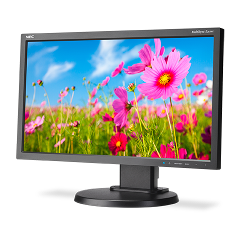 NEC E203Wi-BK-R 20in. Eco Widescreen Monitor w/ IPS Panel, Refurbished