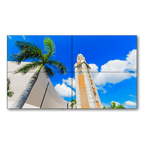 NEC 2x2 55in Ultra Narrow Bezel S-IPS TileMatrix Video Wall Solution