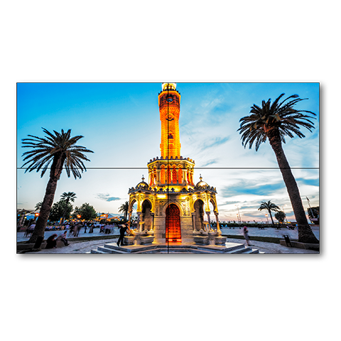 NEC X555UNV-TMX4P 55in Ultra Narrow Bezel S-IPS Video Wall Solution