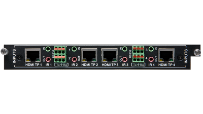Liberty FLX-BI4 4 Port HDbase T Input Card