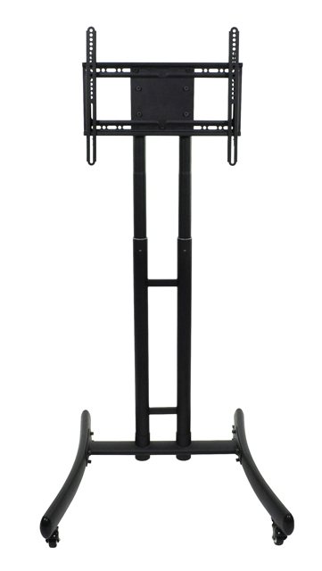 Luxor FP1000 Adjustable Height Rolling TV Stand