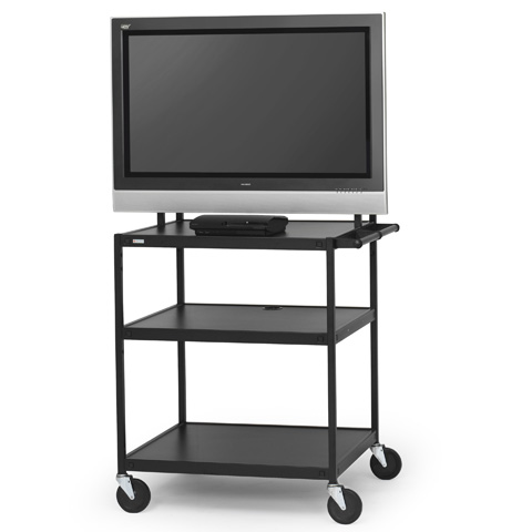 Flat Panel Cart for 26 to 42-inch Monitors