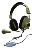 Hamilton HA-66USBSM Deluxe USB Headphones, Gooseneck Mic
