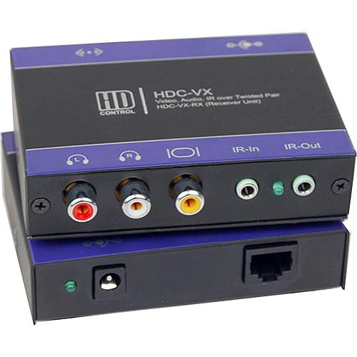 SmartAVI HDC-VXS Video/Audio/IR Point-to-Point CAT5 Extender