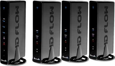 Peerless HD Flow Pro Wireless Multimedia Kit - Multicast: Three Receivers