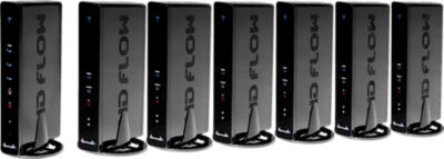 Peerless HD Flow Pro Wireless Multimedia Kit - Multicast: Six Receivers