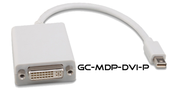 Hall GC-MDP-DVI-P Mini-Displayport Male to DVI Male Adapter Pigtail Cable