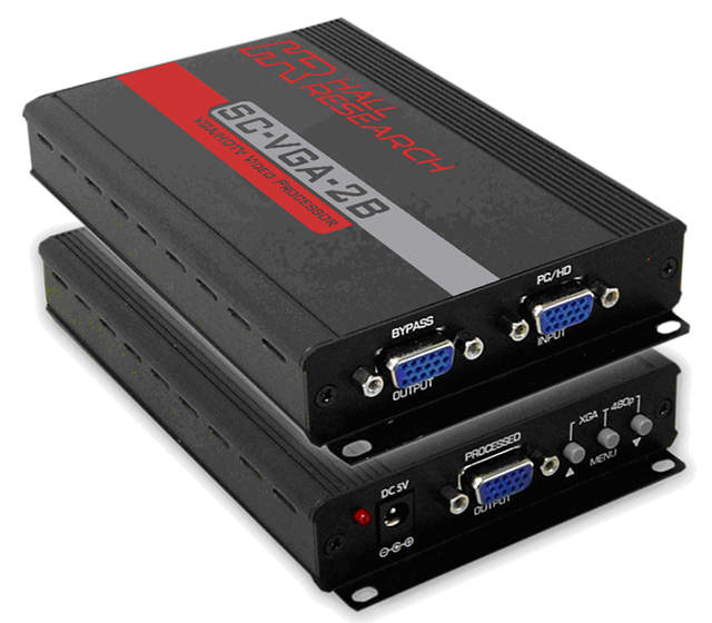 Hall Research SC-VGA-2B VGA/HDTV Video Processor