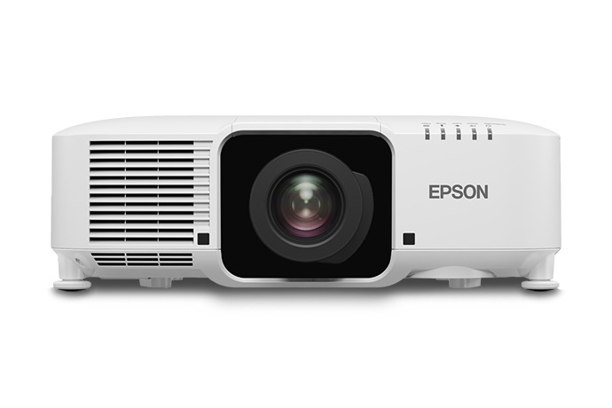 Epson Pro L1070W 7000lm WXGA LCD Laser Projector, White w/ Standard Lens