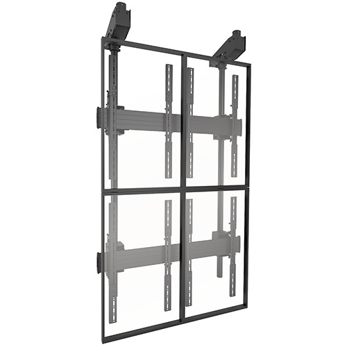 Chief LCM2X2UP FUSION Portrait Micro-Adjustable 2 x 2 Video Wall Solution