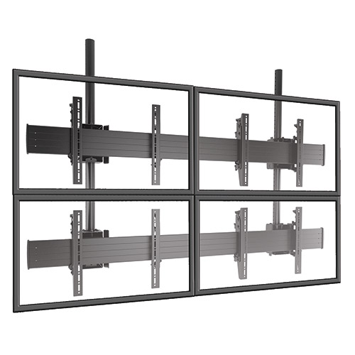 Chief LCM2X2U FUSION Micro-Adjustable 2 X 2 Video Wall Solutions