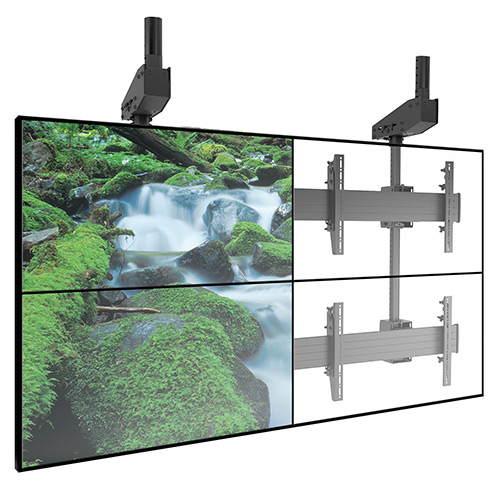 Chief LCM3X2UP FUSION Portrait Micro-Adjustable 3 x 2 Video Wall Solution