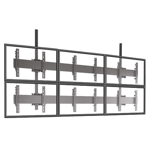 Chief LCM3X2U FUSION Micro-Adjustable 3 X 2 Video Wall Solutions