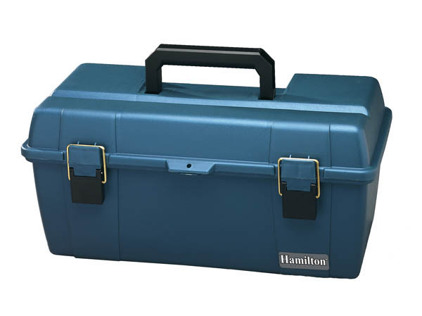 Hamilton Buhl LCP3175 Small Carrying Case for Listening Centers (Blue)