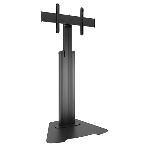 Chief LFAUB Large FUSION Manual Height Adjustable Floor Stand-Black