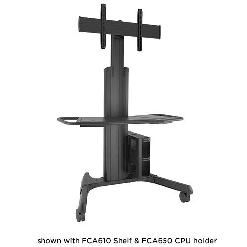 Chief LPAUB Large FUSION Manual Height Adjustable Mobile Cart