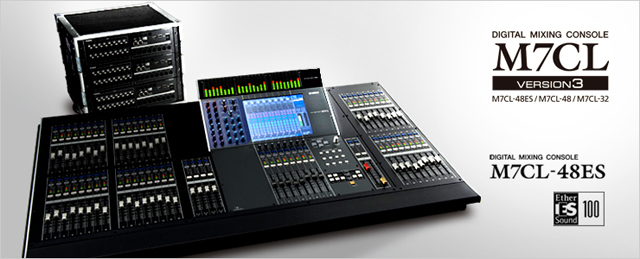 Yamaha M7CL-32 Digital Live Sound Mixing Console, 32 Mono + 4 Stereo Channels
