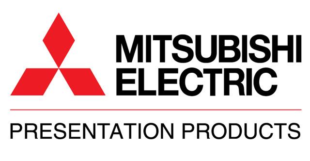Mitsubishi 290P176010 Projector Remote Control