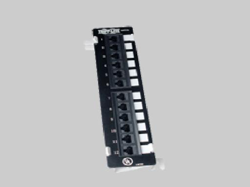 Liberty N050-012 Patch Panel, 12 Port CAT5E VER