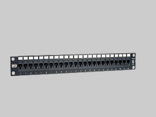 Liberty N052-024 Patch Panel, 24 Port CAT5E 110