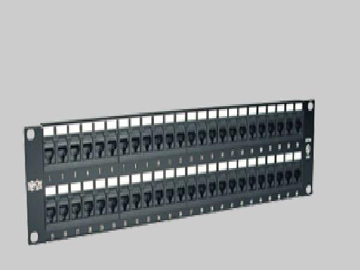 Liberty N052-048 Patch Panel, 48 Port CAT5E 110