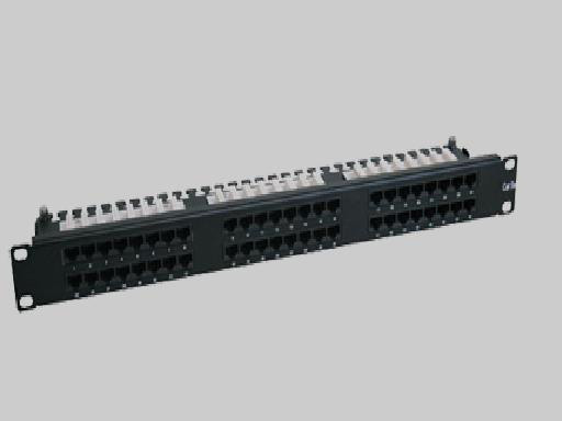 Liberty N252-048-1U Patch Panel, 48 Port CAT6 1RU
