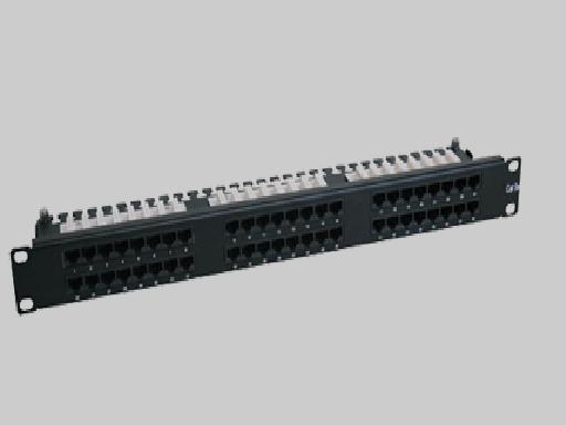 Liberty N252-048-1U Patch Panel, 48 Port CAT6 1RU