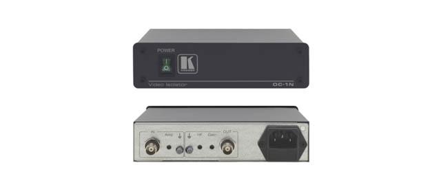 Kramer OC-1N 1-Channel Video/Sync Optical Isolator