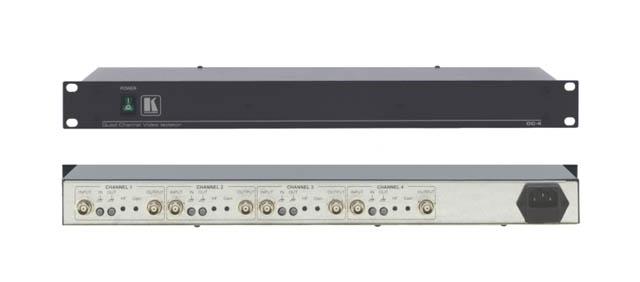 Kramer OC-4 4-Channel Video/Sync Optical Isolator