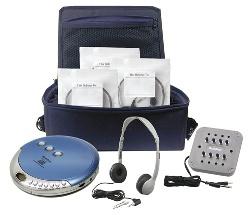 Hamilton PCD-CD4 Ultra Portable CD Listening Center