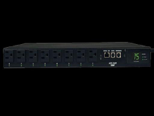 Tripp-Lite PDUMH15ATNET Single-Phase Auto Transfer Switch/Switched PDU
