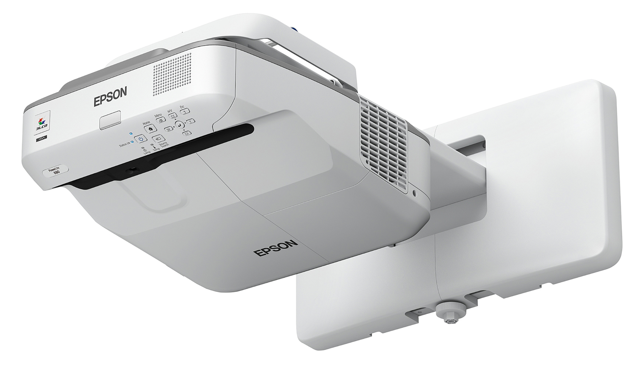 EPSON PowerLite 680 3500lm XGA Ultra Short-Throw Projector