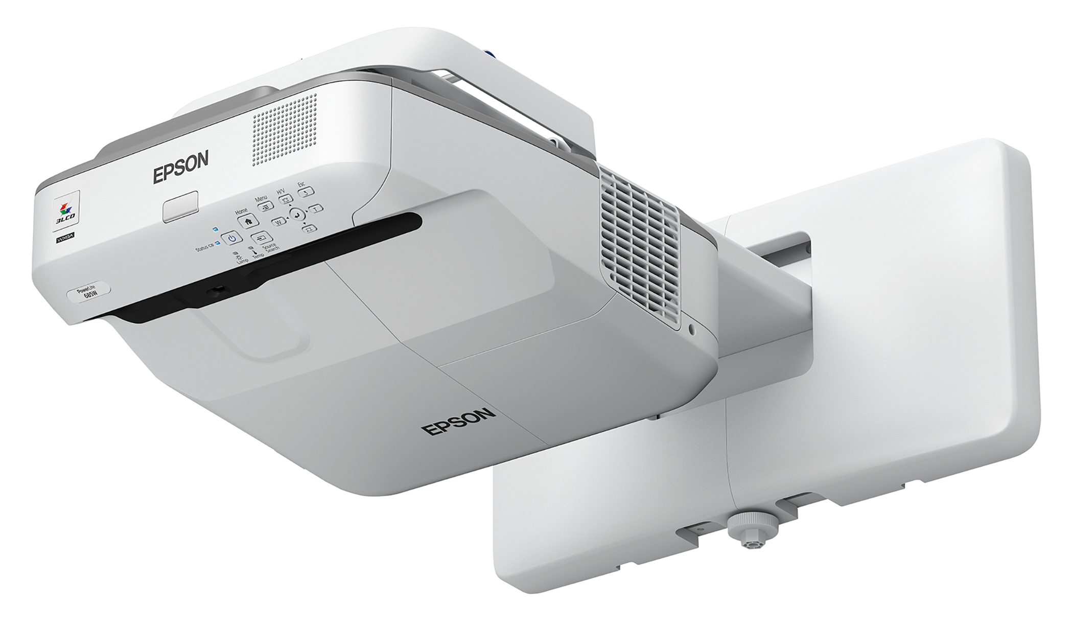 Epson PowerLite 685W 3500lm WXGA Ultra Short-Throw Projector for SMART Board, Open Box